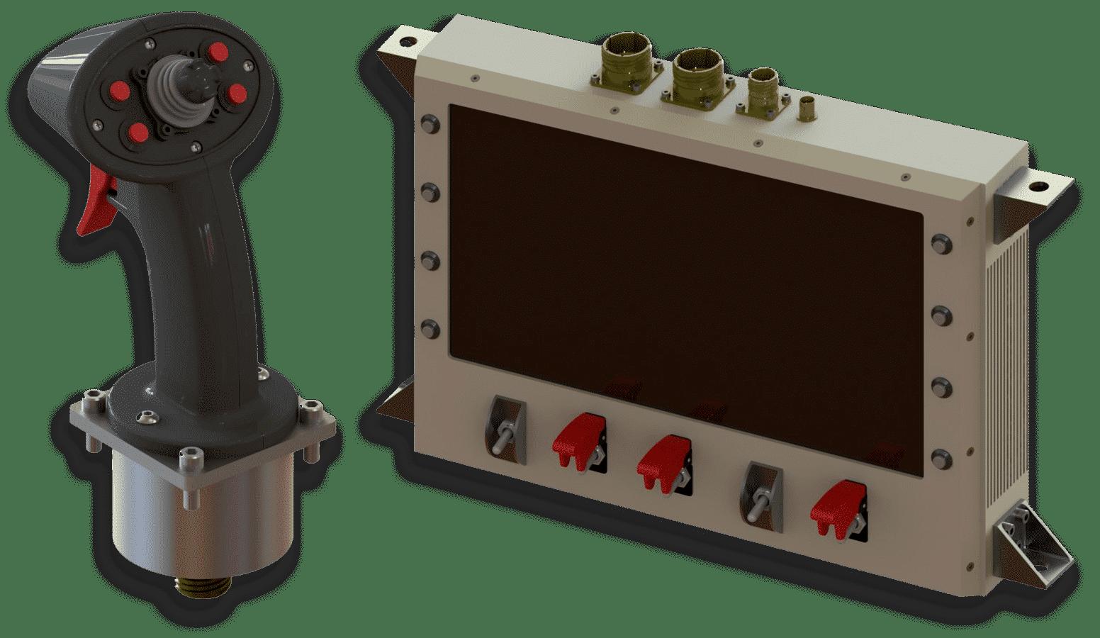 joystick - monitor